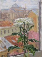 Цветок на мансарде