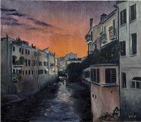 Закат над Падуей
