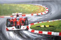 Формула-1. На треке (картина Х.Родригеса)