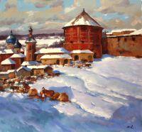 Базарная площадь, Загорск