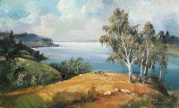 Над озером Кимо Ярви