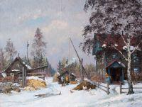 Март. Деревня Мишуково.