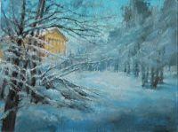 Зима в парке
