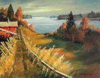 Осень над озером, Отрадное