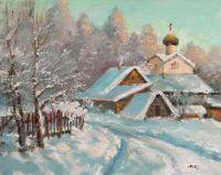 Рождество, морозный день
