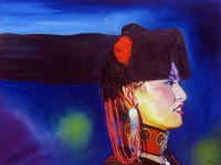 Китайская девушка