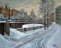 После снегопада. Петербург