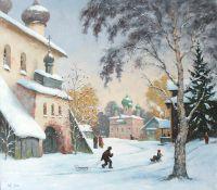 Каргополь зимой