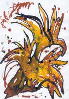 цветок Жар-птица