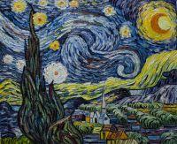 Звездная ночь (копия картины Ван Гога)