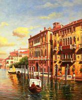 По каналам Венеции N1. Худ. А.Ромм