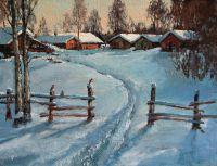На краю деревни