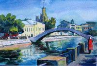 Горбатый мост в Замоскворечье