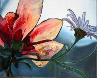 Цветок и волна