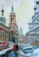 Старая Москва. Черниговский переулок