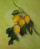 Копия Моне Ветка лимонов