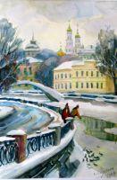 Вид на Ивана Великого с Замоскворечья