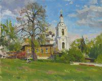 Церковь Спаса за верхом на Смоленке