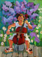 Сирень виолончель