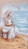 Ангел и море