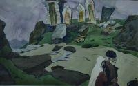 В горах Дагестана.Из серии Дагестан. 1965 г.