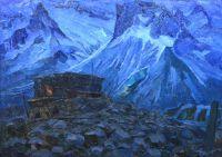 Ночь в горах. 1965 г.