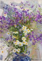 Луговые цветочки