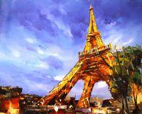 Париж. Под Эйфелевой башней