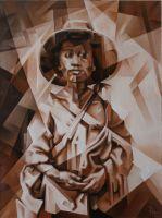 Мальчик. 1862. Кубофутуризм
