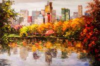 Нью-Йорк. Осень в Центральном парке