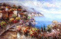 Цветущее Cредиземноморье. Вид с террасы