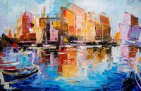 Лодки N3. Серия Морская разноцветная