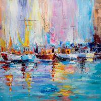 Лодки N5. Серия Морская разноцветная