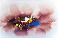 """Картина маслом  """"Абстракция. Кое-что об эмоциональной саморегуляции N3"""""""