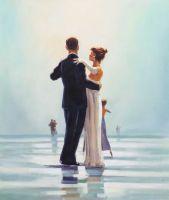 Копия картины Джека Веттриано. Dance Me to the End of Love