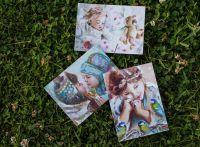 Набор открыток Маленькие персонажи