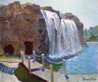 """""""Водопад на о-ве Солнца"""" (г.Харбин. Китай)"""
