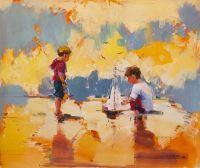 Дети на морском берегу. N12