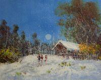 Cнежным днем в начале зимы. N1