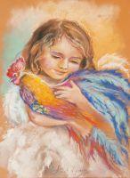 Ангел и птица