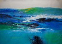 Абстракция. За синими холмами