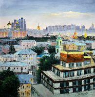 Московских окон негасимый свет
