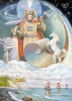 Верховный бог славян Свентовид