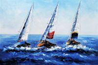 Яхтинг. Под разноцветными парусами N2. Версия CV