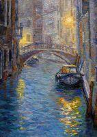 """Пейзаж """"Ночная Венеция"""""""