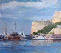 Кипр-север, Гирна, крепостные стены - морина