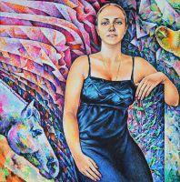 Женский портрет 23