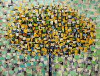 Дерево. Осенью основной желтый