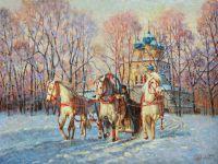 Чудо - русская зима!