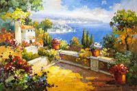 На средиземноморской террасе